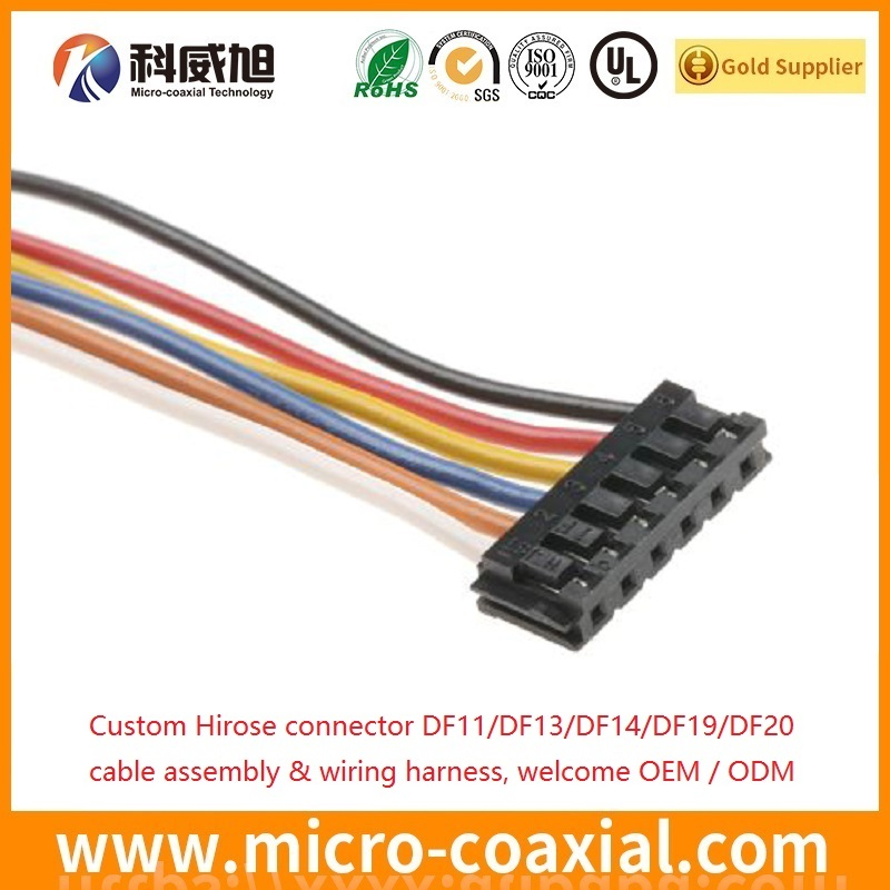 HRS DF11 DF9 DF20 Hirose Wiring Harness OEM ODM HRS wire harness manufacturer