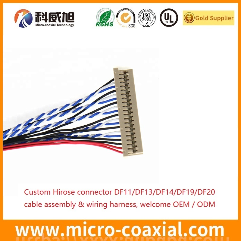 HRS DF20 DF19 DF14 Hirose Wiring Harness OEM ODM HRS wire harness manufacturer