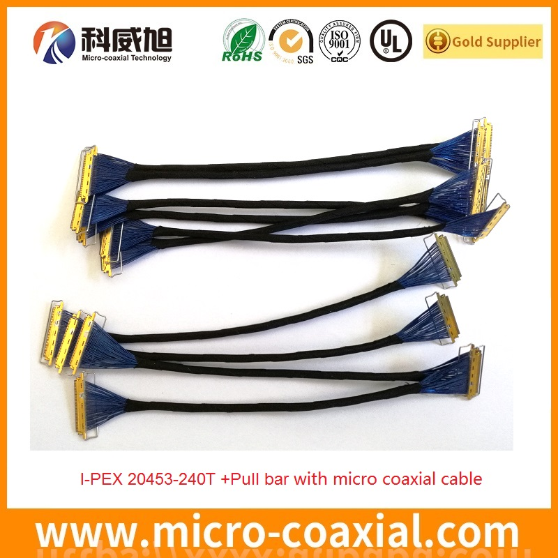 Custom I-PEX-20453-230T-240T edp cable assembly manufacturer