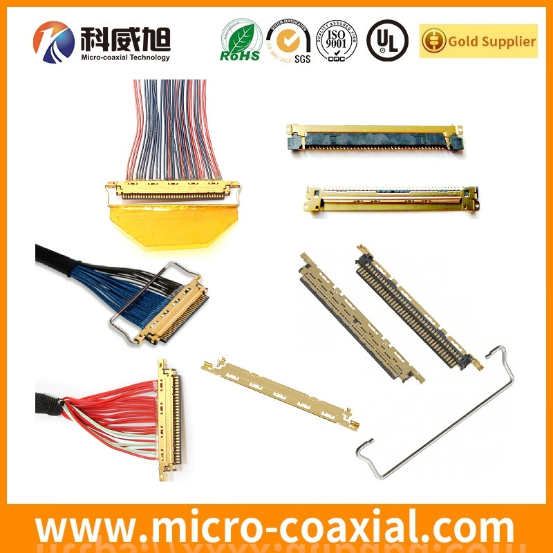 Custom eDP cable assembly 30 pin 40 pin edp cable manufacturer-TE-LCEDI-LCD-cable