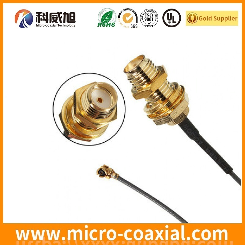 MMCX to SMA Female RF coax Pigtail RF coaxial cable factory