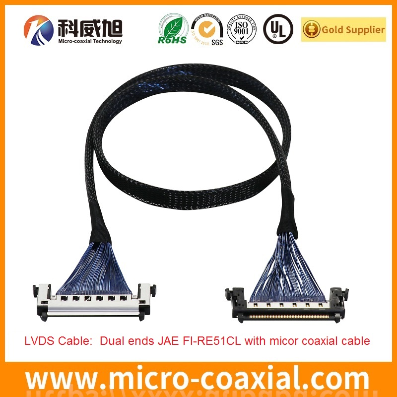 Micro-coaxial-cable-assembly-JAE-FI-RE21-31-41-51CL-LVDS-eDP-cable